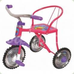Трехколесный велосипед Profi Trike LH 701 Фиолетовый