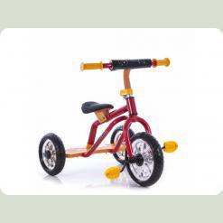 Трехколесный велосипед Profi Trike M 0688-3 Красно-желтый