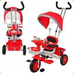 Трехколесный велосипед Profi Trike M 1650-3HR Eva Foam Красный