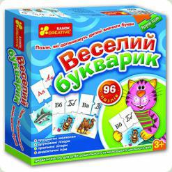 Умные пазлы Ranok Creative Веселый букварик (6102)