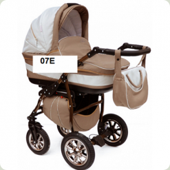Универсальная коляска Anmar Eliss New 07E Кремово-белый