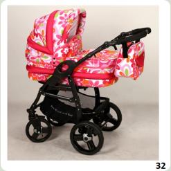 Универсальная коляска Anmar Hilux 32 Розовый