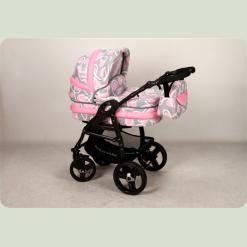 Универсальная коляска Anmar Hilux 42 Серо-розовый
