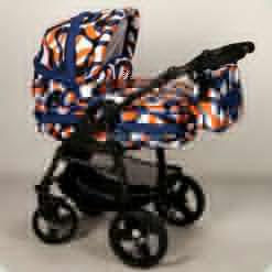 Универсальная коляска Anmar Hilux 57 Оранжево-белый