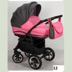 Универсальная коляска Anmar Zico 12 Розовый