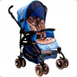 Универсальная коляска Everflo PP-04 DC с пластиковой люлькой Бамбук Кофейный
