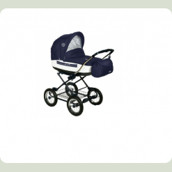 Универсальная коляска Roan Marita Lux 19-SK Синий с белым