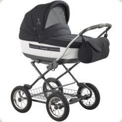Универсальная коляска Roan Marita Lux 20-SK Темно-серый