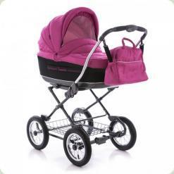 Универсальная коляска Roan Marita Lux S-133 Розовый