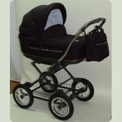 Универсальная коляска Roan Marita Lux S-136 Черный