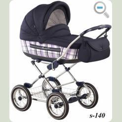 Универсальная коляска Roan Marita Lux S-140 Синий