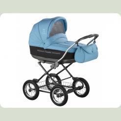 Универсальная коляска Roan Marita Lux SC-06 Синий с черным