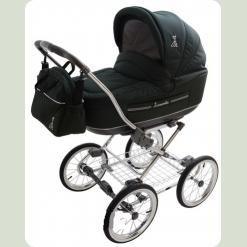 Универсальная коляска Roan Marita Prestige Chrome s-137 (белые колеса)