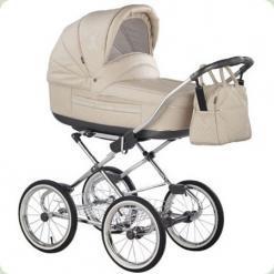 Универсальная коляска Roan Marita Prestige Chrome s-152 (черные колеса)