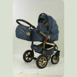 Универсальная коляска Tako Jumper X Jeans 02 Голубой
