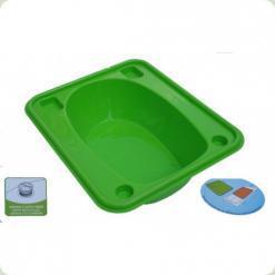 Ванночка Tega прямоугольная (670*780*230) со сливом TG-028 - light green