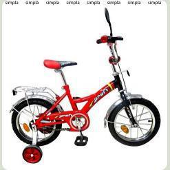 Велосипед 2-х кол. PROFI P1431 (красный)