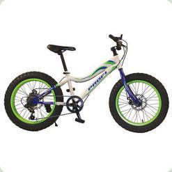 """Велосипед 20"""" Profi 20XD05-1 Белый/Зеленый"""