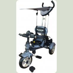 Велосипед 3-х колесный Mars Trike надувные (графит)