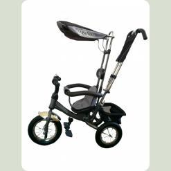 Велосипед 3-х колесный Mini Trike надувные (графит)