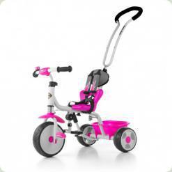 Велосипед 3х кол. M.Mally Boby 2015 с подножкой (pink)
