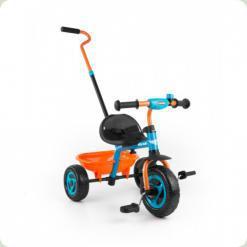 Велосипед 3х кол. M.Mally Turbo (orange-turquise)