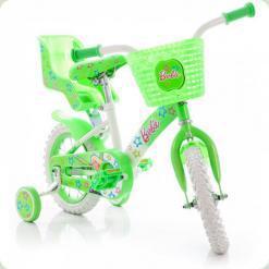 """Велосипед Azimut 12"""" Барби Салатовый"""