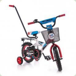 "Велосипед Azimut 12"" MyBike Py Красно-белый"