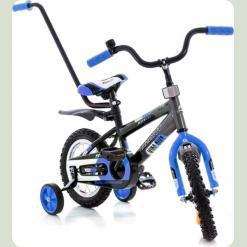 """Велосипед Azimut 12"""" Stitch A Py Сине-черный"""