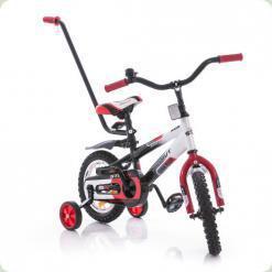 """Велосипед Azimut 14"""" Stitch РУ Красно-бело-черный"""