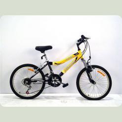 """Велосипед Azimut Alpha Shimano 20"""" Черно-оранжевый"""