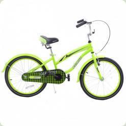 """Велосипед Azimut Beach 20"""" Салатовый"""