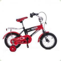 """Велосипед Azimut  Bear 12"""" Красно-черный"""