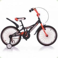 """Велосипед Azimut Crosser 16"""" Оранжевый"""