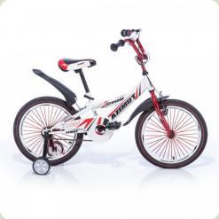 "Велосипед Azimut Crossere 16"" Бело-красный"