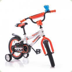 """Велосипед Azimut Fiber 18"""" Оранжево-белый"""