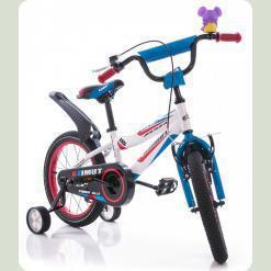 """Велосипед Azimut Fiber 18"""" Сине-белый"""