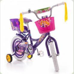 """Велосипед Azimut Girls 14"""" Фиолетовый"""