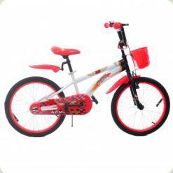 """Велосипед Azimut Hunter 20"""" Красный"""