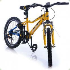 "Велосипед Azimut Knight 20"" Желто-синий"