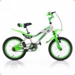 """Велосипед Azimut KSR 20"""" Бело-салатовый"""