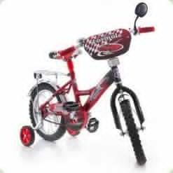"Велосипед Azimut Mustang 14"" Феррари Красный"