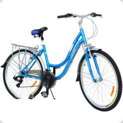"Велосипед Azimut New Street 28"" размер рамы 21"" Голубой (28*NEW STREET)"