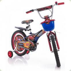 """Велосипед Azimut Pilot 16"""" Тачки Красный"""