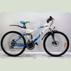 """Велосипед Azimut Race G-FR-D 24"""" размер рамы 17"""" Серый (24*109-G-FR/D)"""