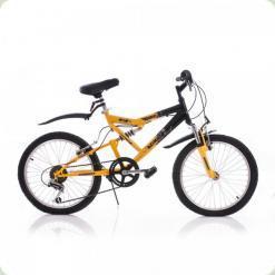 """Велосипед Azimut Scorpion 20"""" Черно-желтый"""