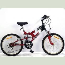"""Велосипед Azimut Stinger 20"""" Желто-черный"""