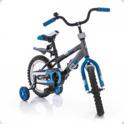 "Велосипед Azimut Stitch 18"" Черно-синий"