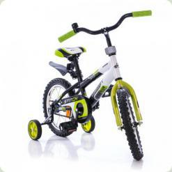 "Велосипед Azimut Stitch 18"" Зелено-бело-черный"