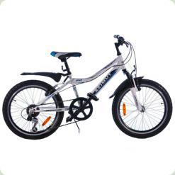 "Велосипед Azimut Voltage 20"" Бело-голубой"